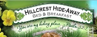 Hillcrest Hide-Away Bed & Breakfast
